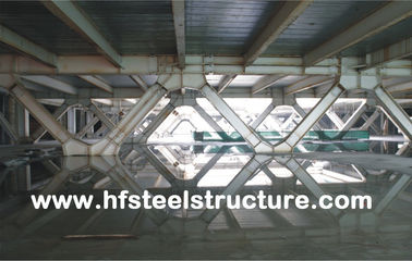 سیستم فریم و Pre-Fabricated Office Multi-Storey Steel Building For Mall، Hotel